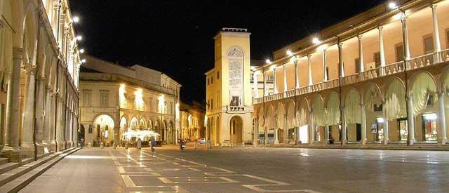 Historic Faenza, pic from wikimapia