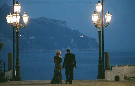 Filming locations in beautiful Campania: Good Woman