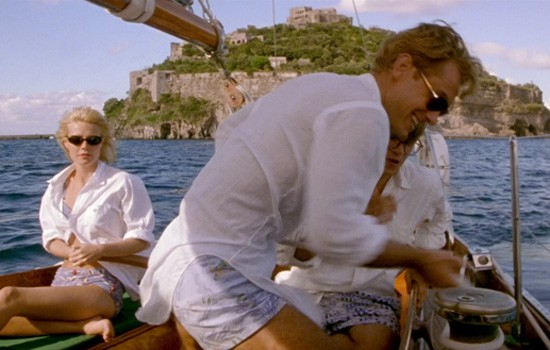 Talented Mr Ripley in Campania