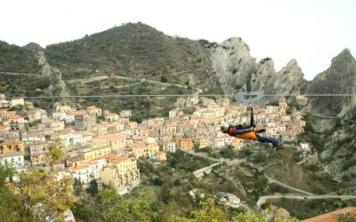 Basilicata: bicycle itineraries and zip lining