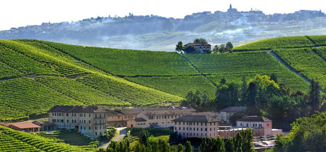 Villa Contessa Rosa in Piedmont's idyllic hills and vineyards