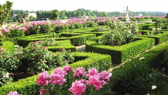 Boboli Gardens in Florence - photo from planetden.com