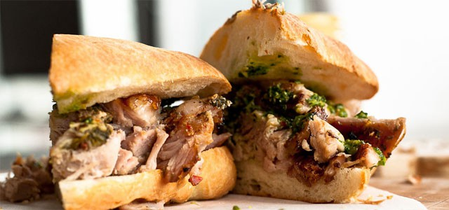 Panino con la porchetta. Photo from tastespotting.com