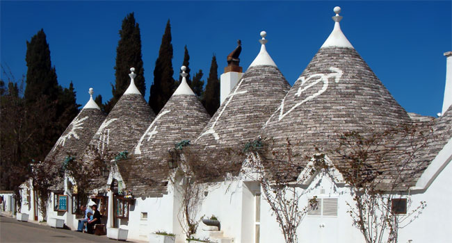 The typical trulli - image by Marcok