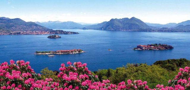 Lake Maggiore & its islands, image from isolelagomaggiore.com