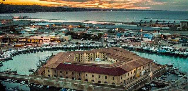 Il Lazzaretto, Ancona - image from ilmarchigianodoc.com