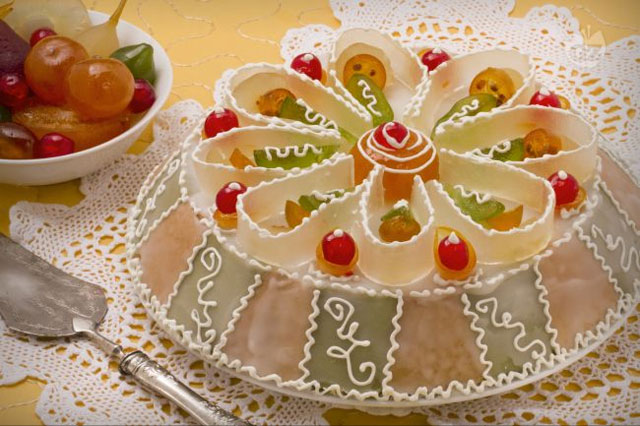 Sicilian cassata cake, image from giallozafferano.it