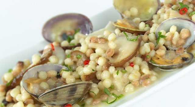 Fregula with clams - image from wikicucina.it