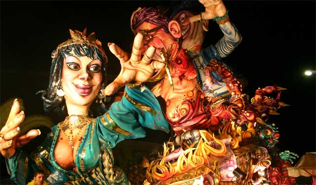 The Carnival in Sciacca, Sicily. Image from Sicilia Informazioni