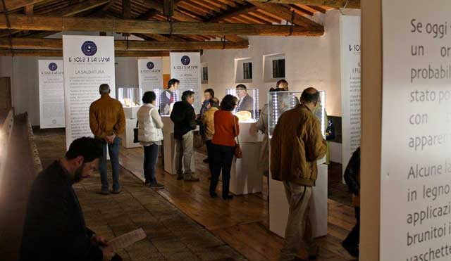 Etruscan Exhibition at La Scapigliata in Maremma