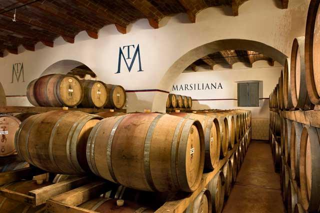 Maremma-Wine+cellar+at+Tenuta+Marsiliana