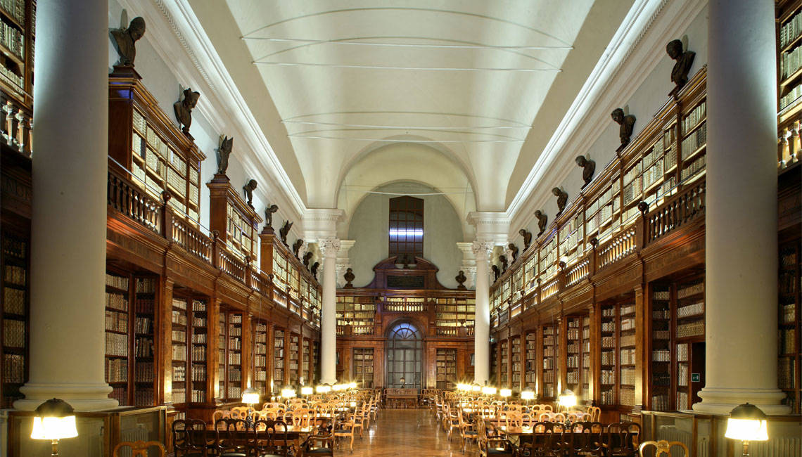 10 Beautiful Libraries And Bookstores In Italy