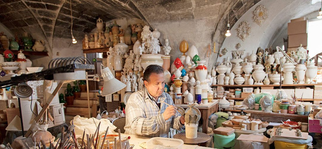 The clay boot: pottery itineraries in Italy