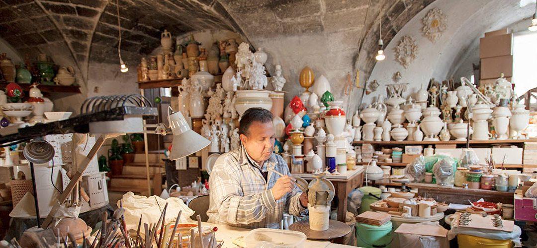 Grottagli Pottery, Apulia - ItaliaUnica