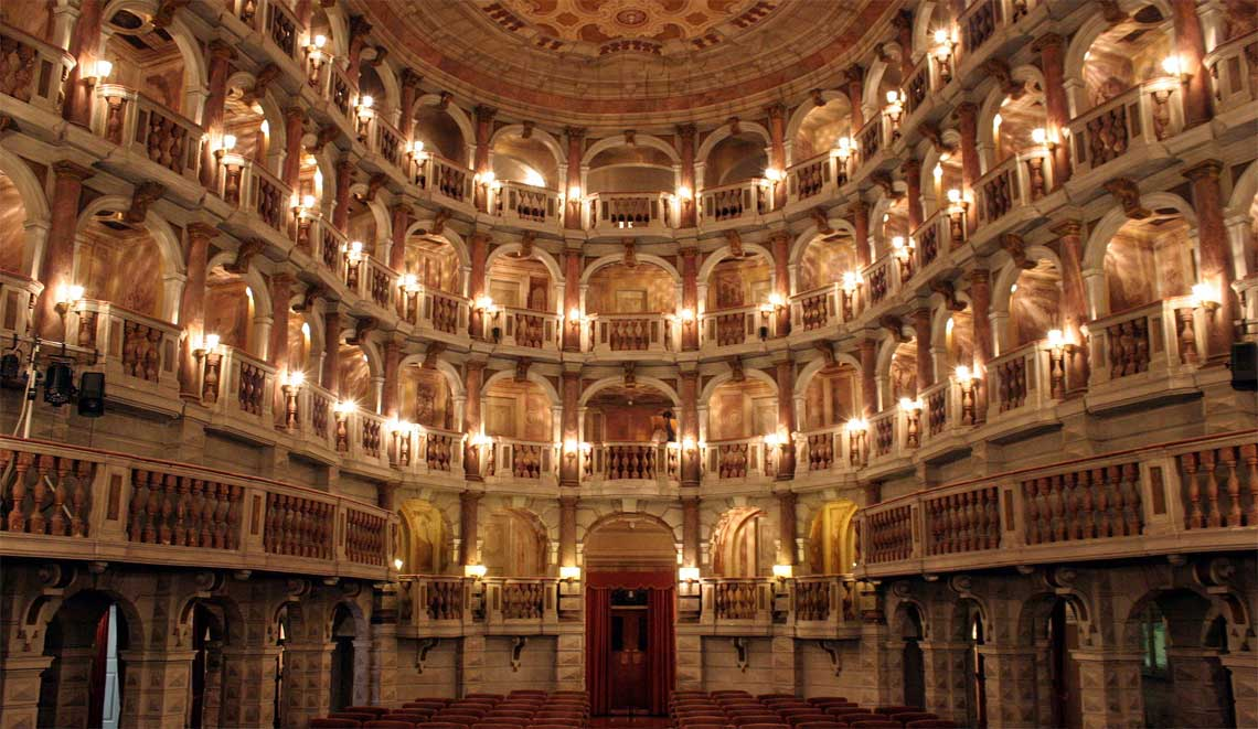 Teatro Bibiena in Mantua