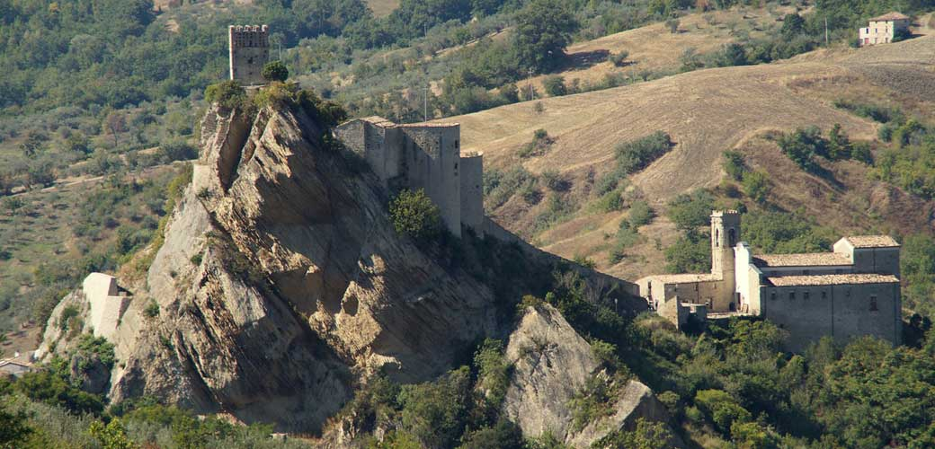 Ancient Castles of Abruzzo, Italy