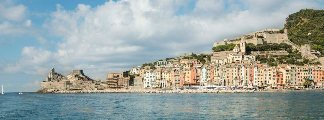 Portovenere on the Bay of Poets, Liguria