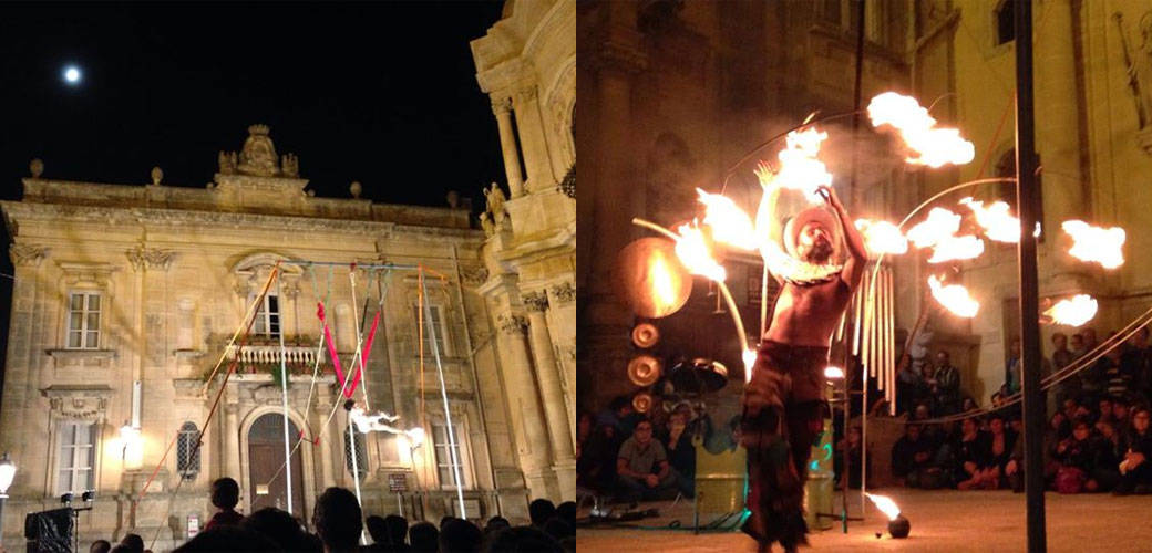 Ibla Buskers - Street Artists' Festival in Sicily