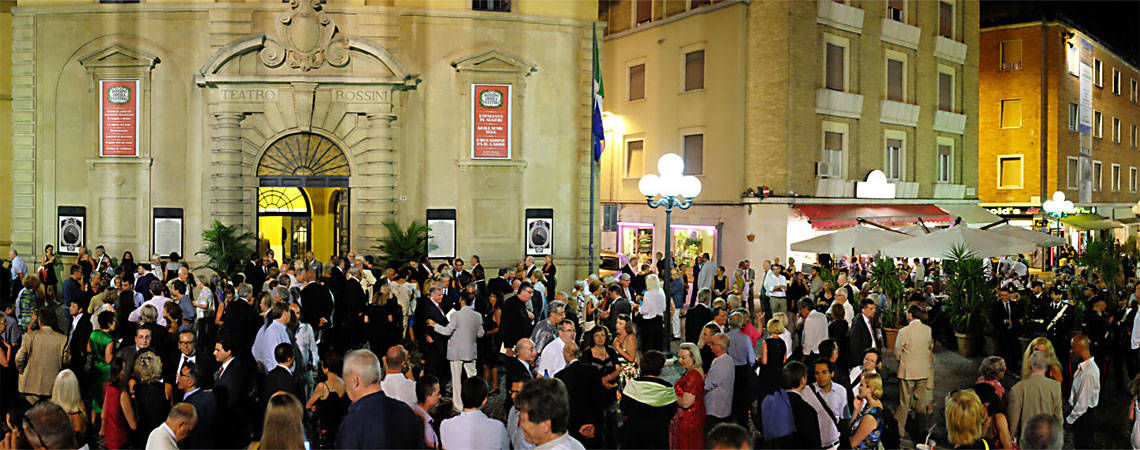Rossini Theater & Rossini Opera Festival, Pesaro