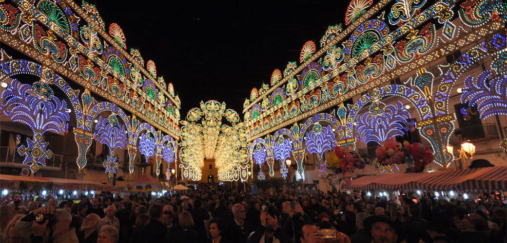 San Trifone Festival in Adelfia, Apulia