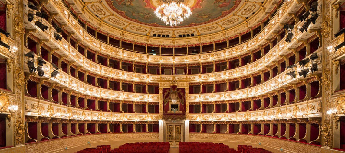 The beautiful Teatro Regio, Parma teatroregioparma.it