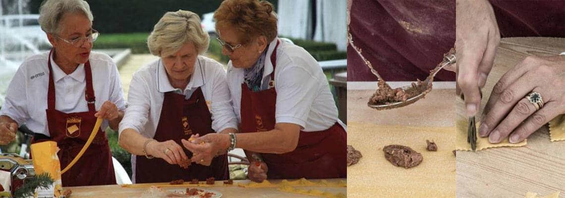 Tortel Dols: sweet tortello from Emilia Romagna