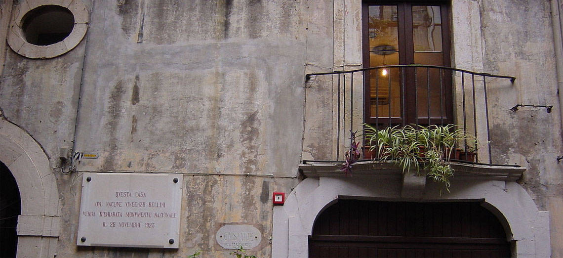 Bellini's birth place house. Photo by Giovanni Dall'Orto