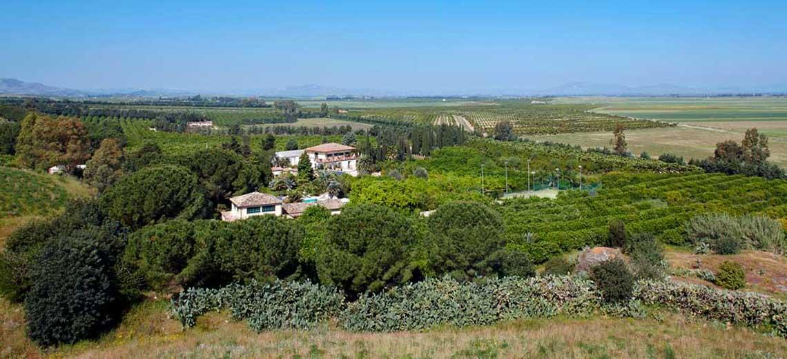 Unique properties: Villa Aranjaya, Sicily