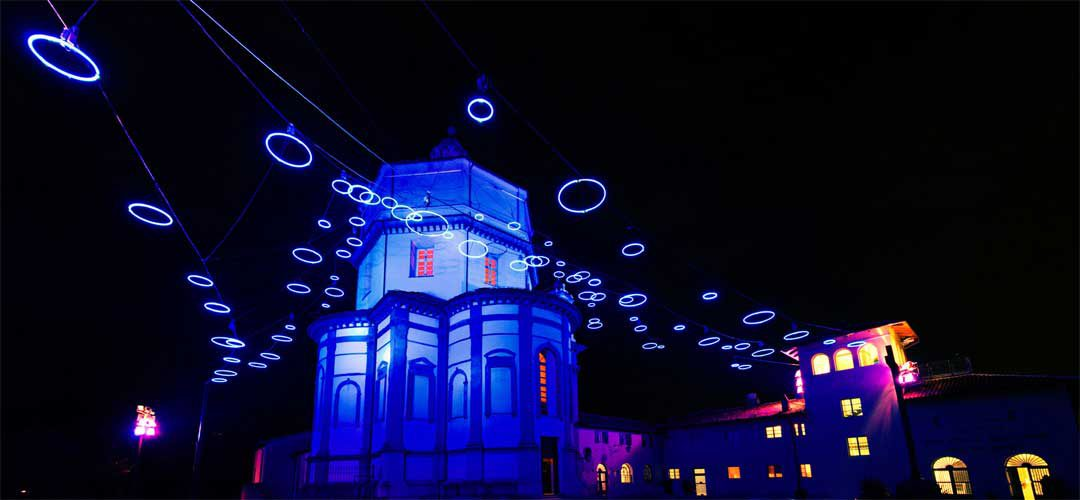 "Turin ""Luci d'Artista"" light exhibition"
