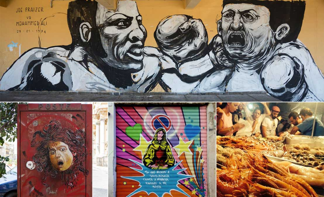 Street Art and Street Food in Palermo, Sicily