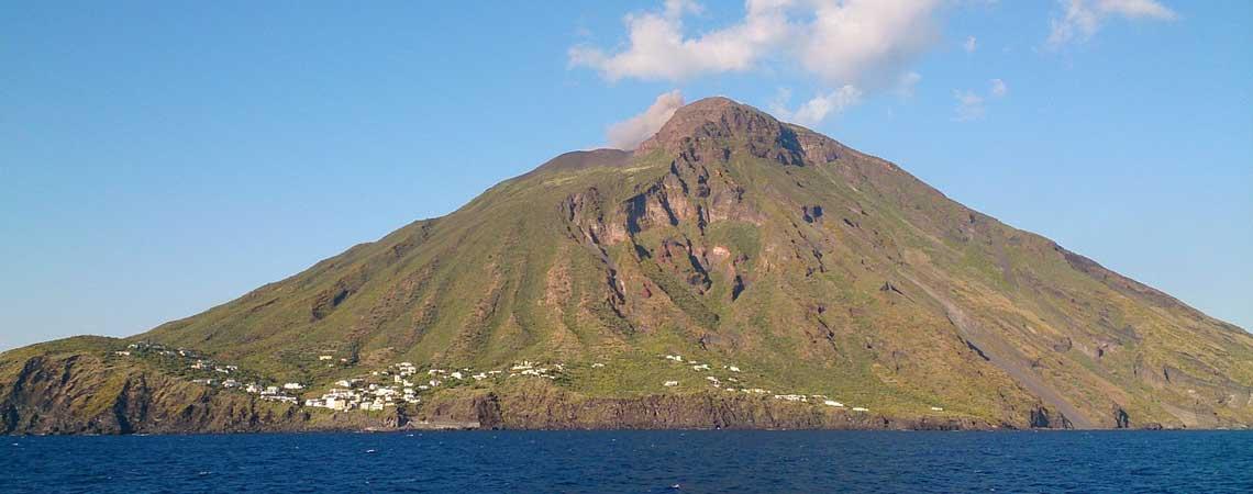 Italy's tiny islands: Stromboli, Sicily