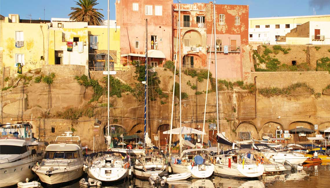 Italy's tiny islands: Ventotene, Lazio