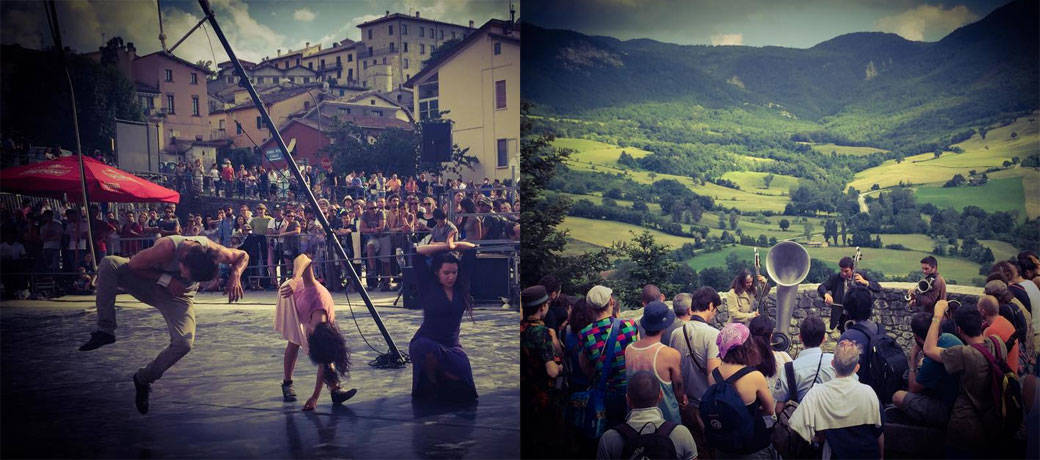 International Buskers Festival in Pennabilli, Italy