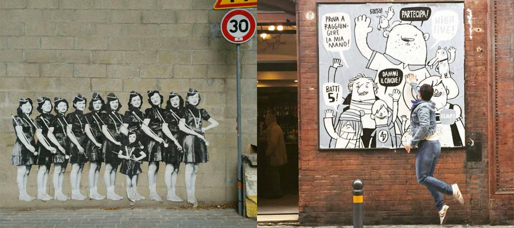 Street Art Poster Festival in Bologna (1-8 May 2016)