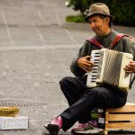 Music in the streets of Catania