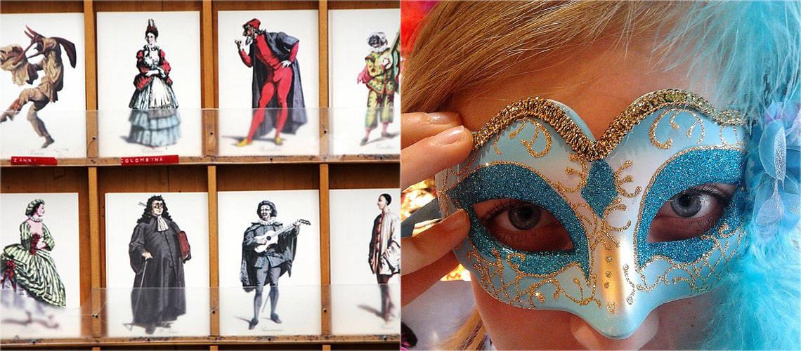 Seasonal Travel in Italy: mask making in Venice