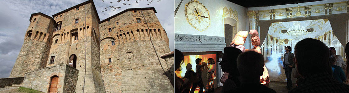 Fortress of Fairy Tales (Rocca delle Fiabe) in Sant'Agata Feltria
