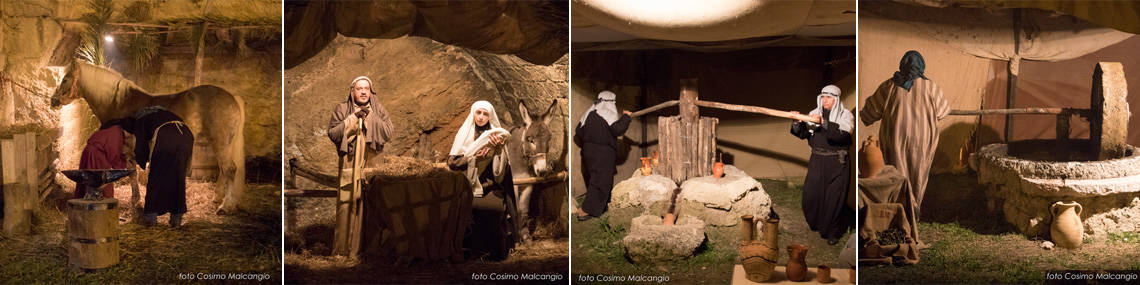 Corporate Christmas Events in Italy: Nativity in Canosa, Apulia