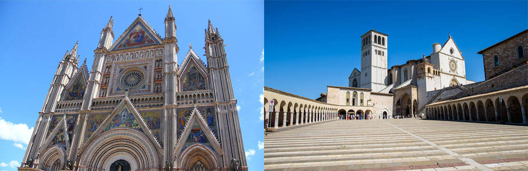 Orvieto and Assisi, Umbria, Italy