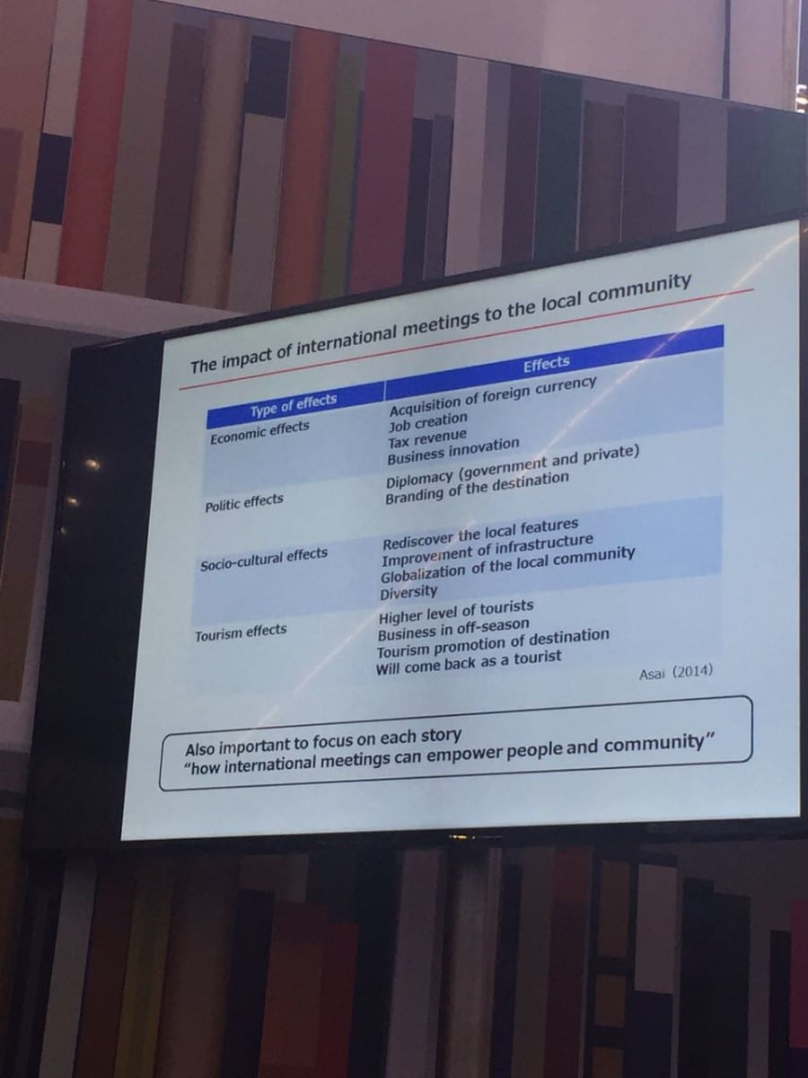 EduMonday IMEX: event sustainability