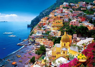 Positano, a fairy-tale spot on the Amalfi Coast.