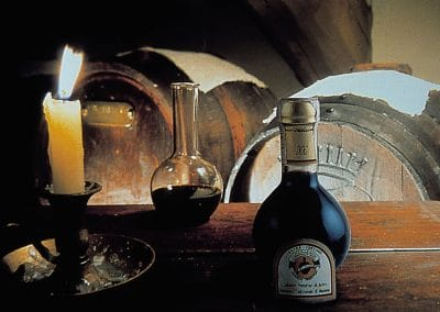 Balsamic Vinegar and Romanesque art in Modena