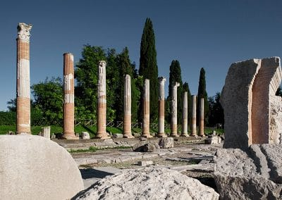 The ruins of Aquileia, a World Heritage Site