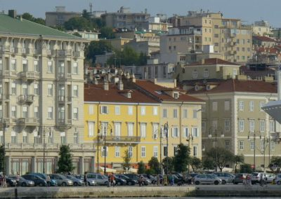 Trieste, the region's capital