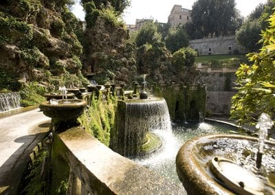 The gardens of Villa d'Este