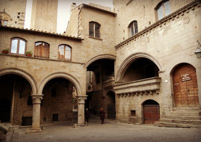 The medieval beauty of Viterbo