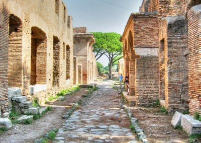 The remarkable ruins of Ostia Antica