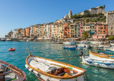 The ancient fishing village of Porto Venere