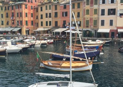 The elegant harbor town of Portofino