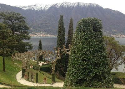 Lombardy's lakes are lined with elegant villas